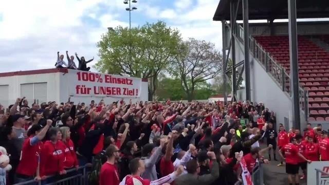 Mainz 05: Bewegende Szenen im Bruchwegstadion