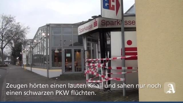 Unbekannte sprengen Geldautomat in Bingen