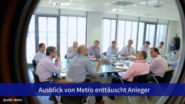 Aktie im Fokus: Ausblick von Metro enttäuscht Anleger