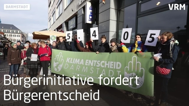 Darmstadt: Bürgerentscheid für mehr Klimaschutz
