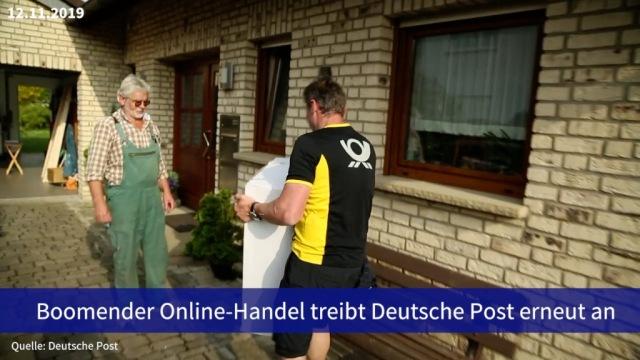 Aktie im Fokus: Boomender Online-Handel treibt Deutsche Post erneut an