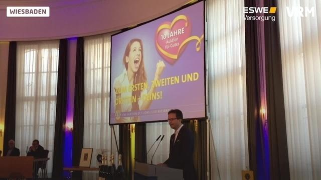 """""""Auktion für Gutes"""" in Wiesbaden"""