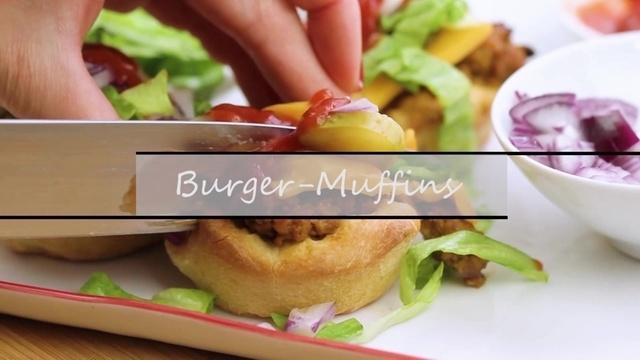 Burger-Muffins