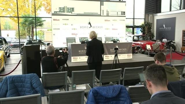 Tennis-Akademie in Hochheim: Die PK mit Boris Becker