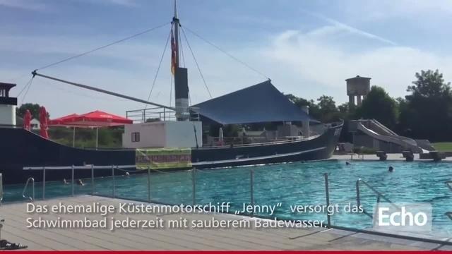 Baden mit Jenny: Das bietet das Freibad in Babenhausen