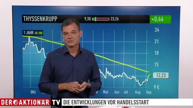 Dow Jones, DAX, Öl, Thyssenkrupp, Continental, MTU, Zalando - Marktüberblick