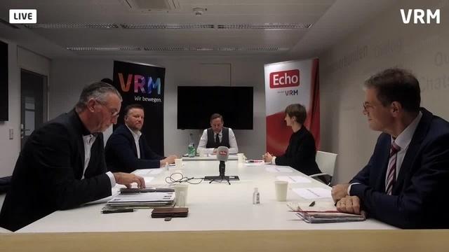 VRM-Podium zur Bürgermeisterwahl in Babenhausen Teil 1