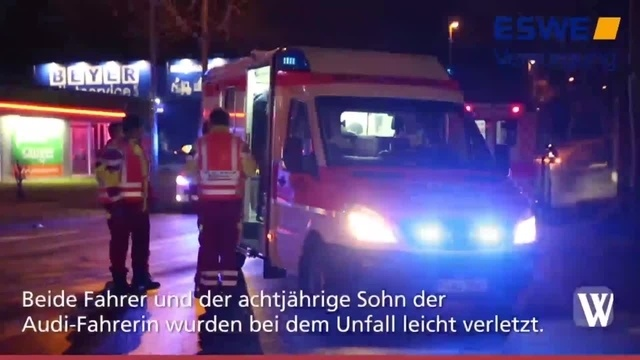 Mainz-Kastel: Weiterer Unfall auf Wiesbadener Straße