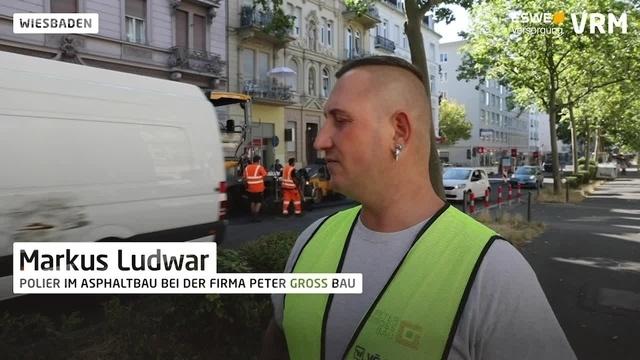 Laut, schmutzig und heiß – Facelifting für eine Straße