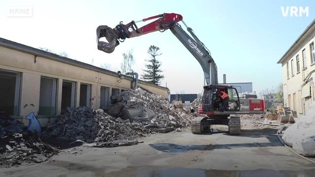Alte Gebäude auf Mainzer Uni-Campus abgerissen