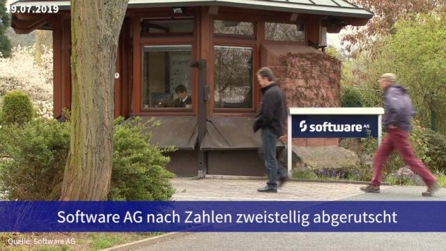 Aktie im Fokus: Software AG nach Zahlen zweistellig abgerutscht