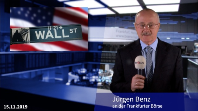 Neues Allzeithoch an der Wall Street hält Dax im Plus