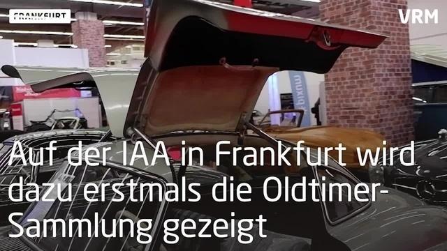 Oldtimer-Sammlung auf IAA