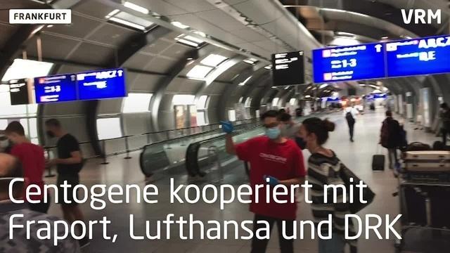 Neues Corona-Testzentum am Frankfurter Flughafen