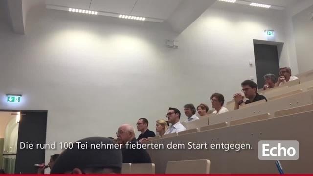 TU-Darmstadt Space Technology Gruppe schaut bei Gersts Aufbruch zu