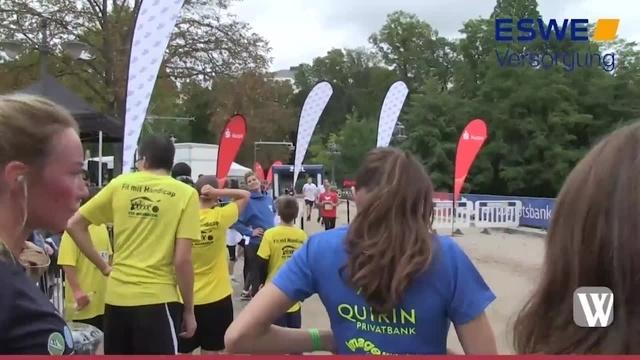 Wiesbaden: 25 Stundenlauf im Kurpark