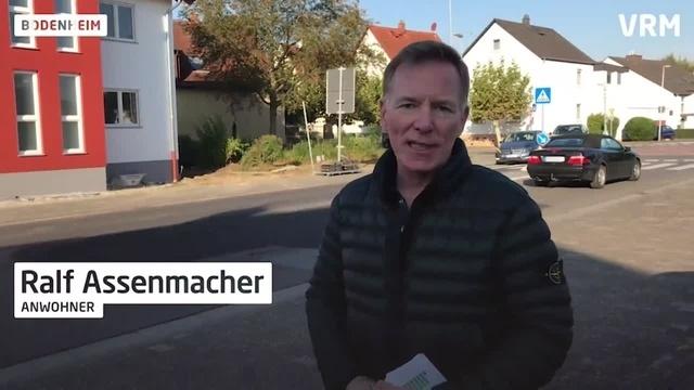 Baustelle in Bodenheim