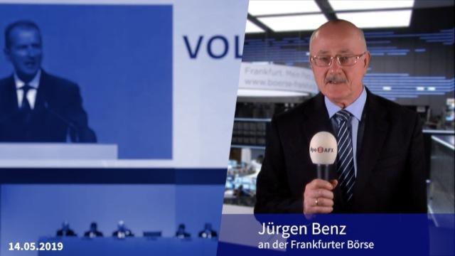 Hauptversammlung: Volkswagen geht in die E-Offensive