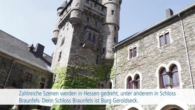 Filmdreh mit Uschi Glas auf Schloss Braunfels