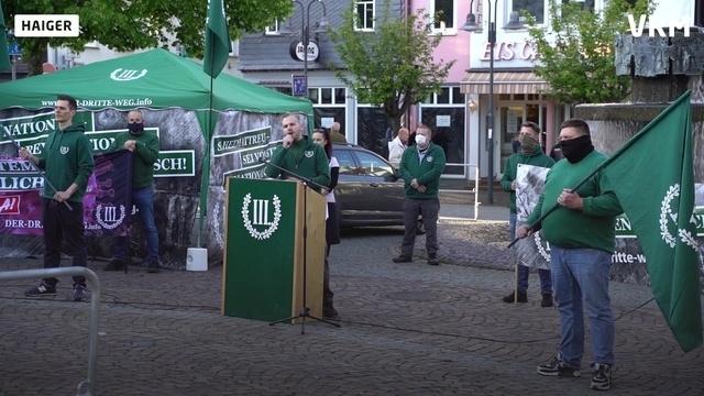 100 protestieren gegen Nazi-Demo in Haiger