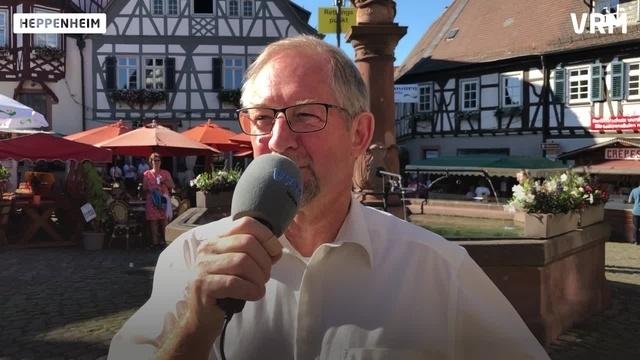 Heppenheim: Der 67. Bergsträßer Weinmarkt ist eröffnet