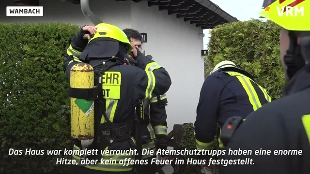 Frau stirbt bei Brand in Wambach