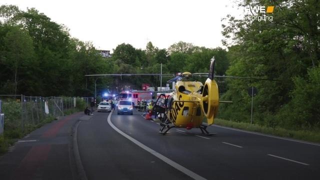 Motorradfahrer verunglückt auf A 671