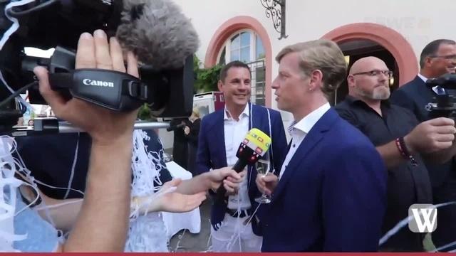 Wiesbadens Oberbürgermeister Sven Gerich hat geheiratet