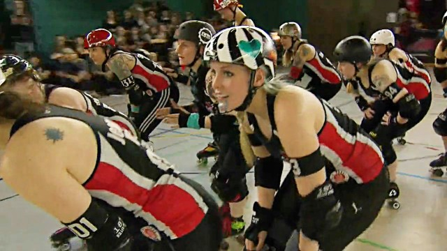 Roller Derby mit den Harbor Girls