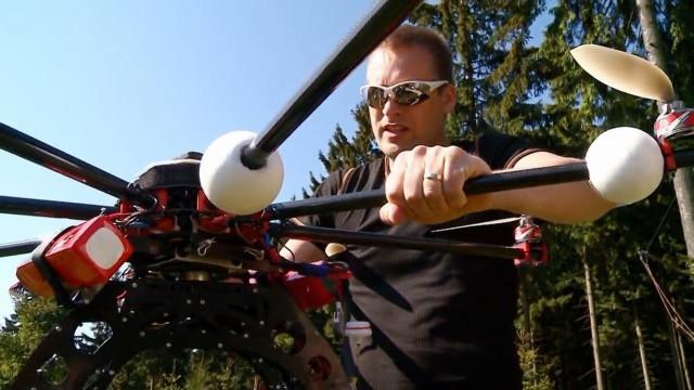 Archäologie mit Drohne und Laser