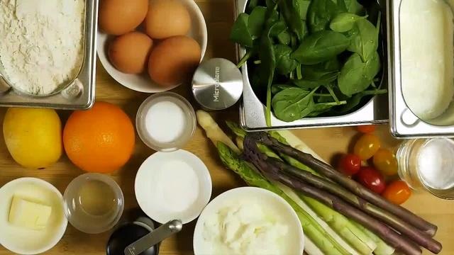 Frisch vom Markt: Spargelravioli
