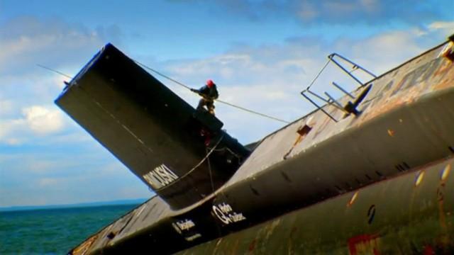 Ein U-Boot auf Landgang