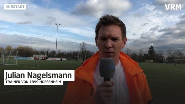 Fußballtalk mit Julian Nagelsmann in Bürstadt