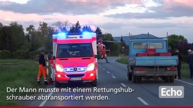 Unfall in Griesheim