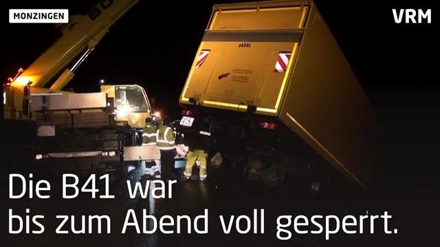 Tödlicher Unfall auf B41 bei Monzingen