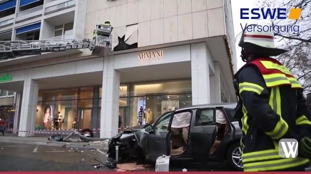 Unfall in der Burgstraße