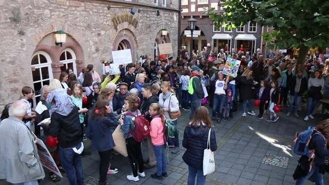Fridays for Future-Demos in Alsfeld und Lauterbach