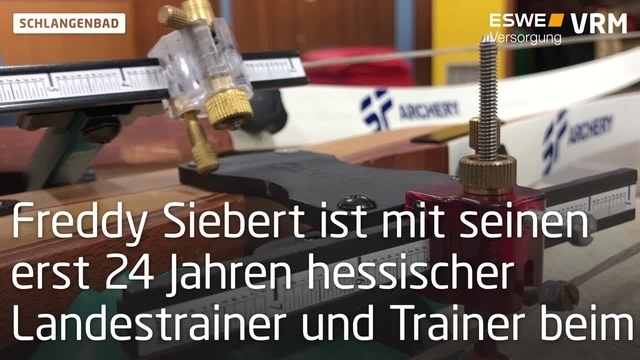 Bogenschießen mit Frederik Siebert