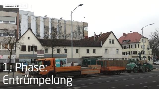 Die letzten Tage der Karstadt-Ruine in Rüsselsheim