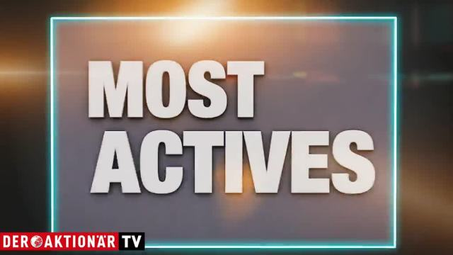 Most Actives: Aixtron, Bayer und Aurora Cannabis