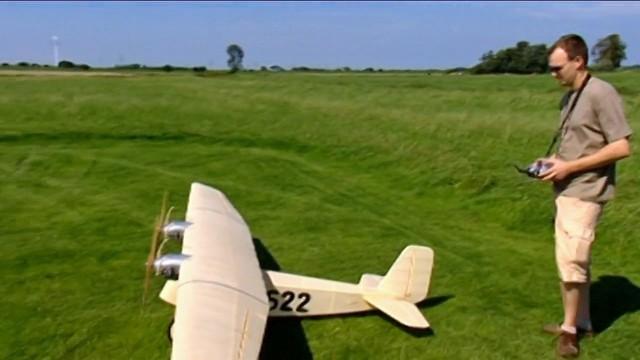 Ein Oldtimer auf Jungfernflug