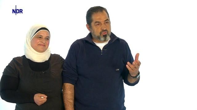 Aeda und Bassam aus Damaskus