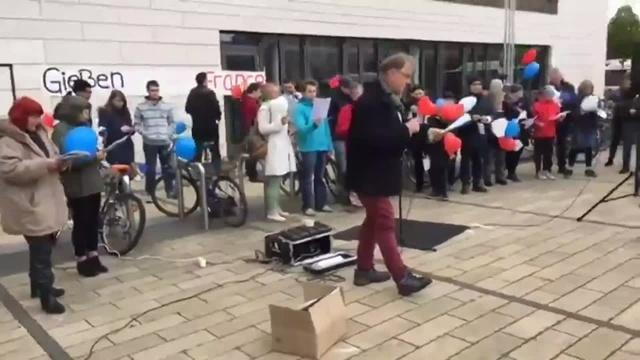 Kundgebung: Pulse of Europe in Gießen