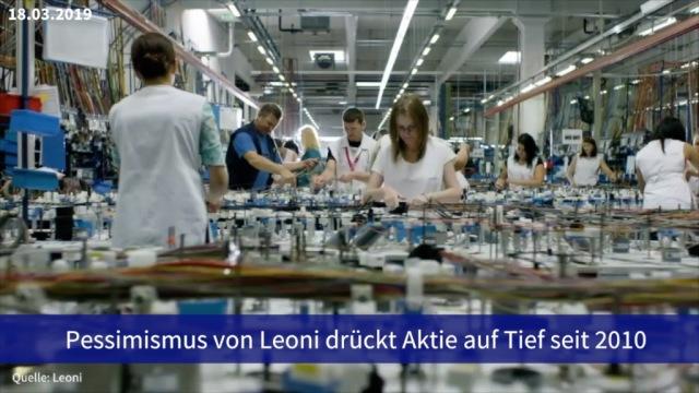 Aktie im Fokus: Pessimismus von Leoni drückt Aktie auf Tief seit 2010