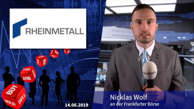 Analyser to go: Oddo BHF sieht Rheinmetall von den Grünen bedroht