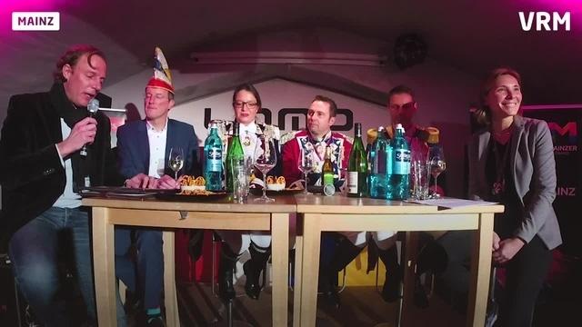 Fastnachtstalkshow im Mainzer Lomo