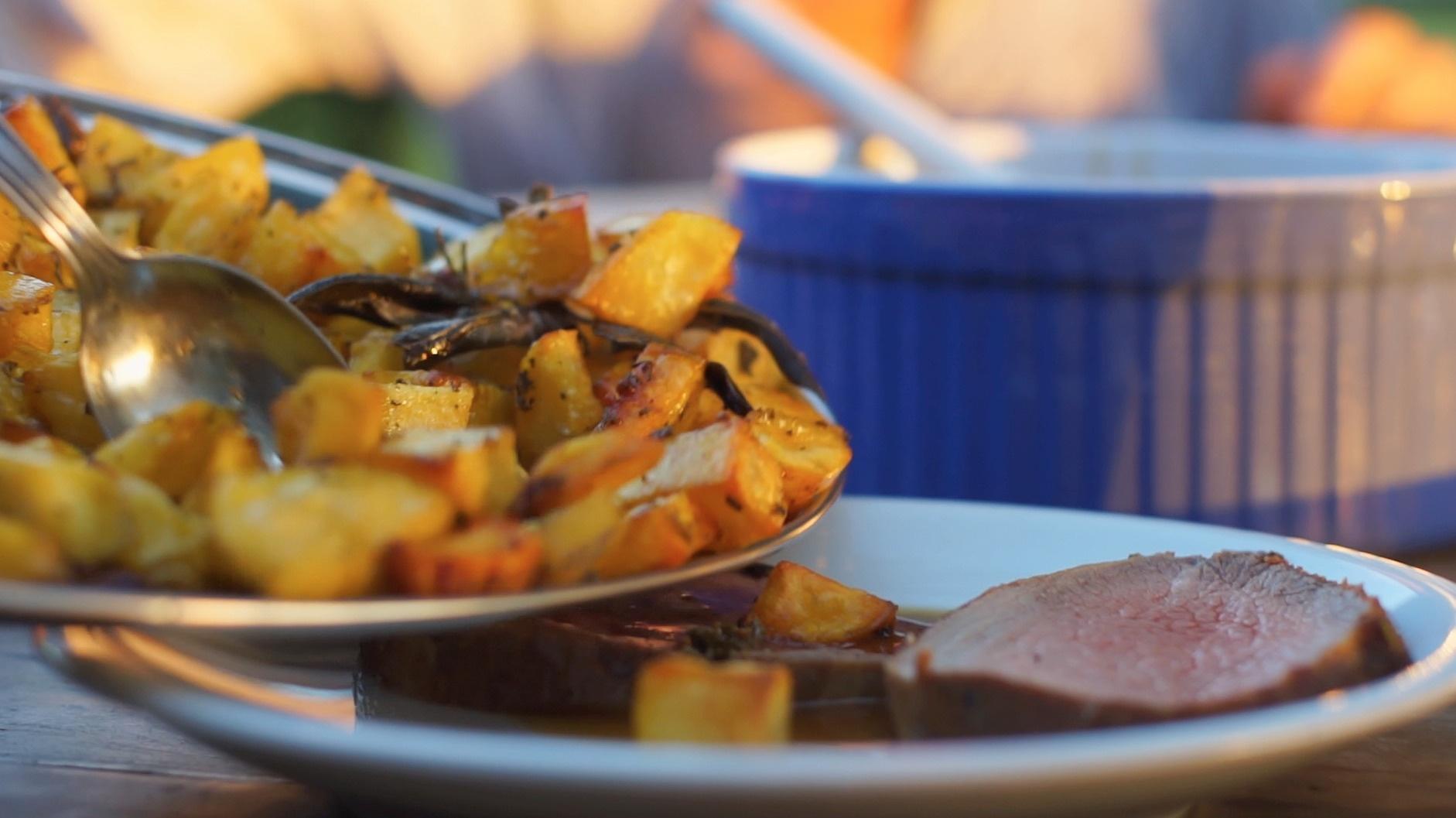 Bratkartoffeln (nach toskanischer Art)