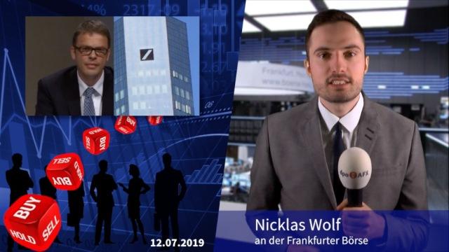 Analyser to go: UBS stuft Deutsche Bank nach Umbauplänen auf Neutral hoch
