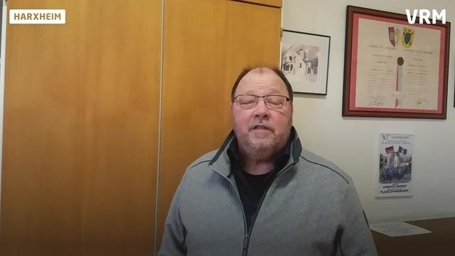 Harxheims Ortsbürgermeister im Gespräch