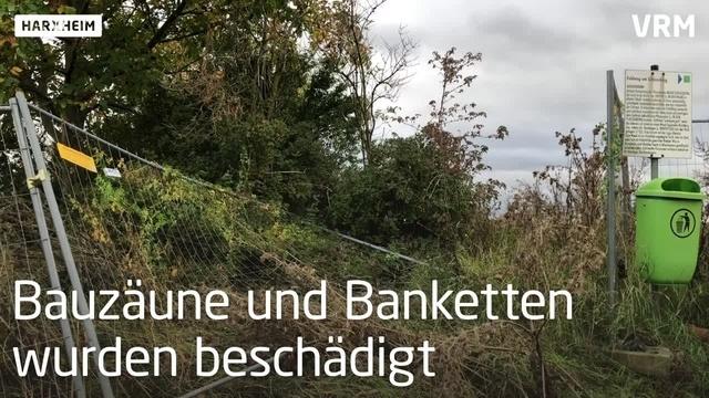 Bauschutt illegal in Harxheim abgeladen